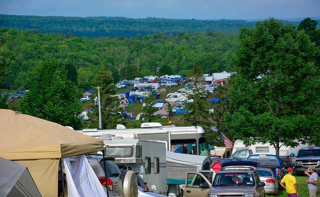 Photo of vehicle camping Area