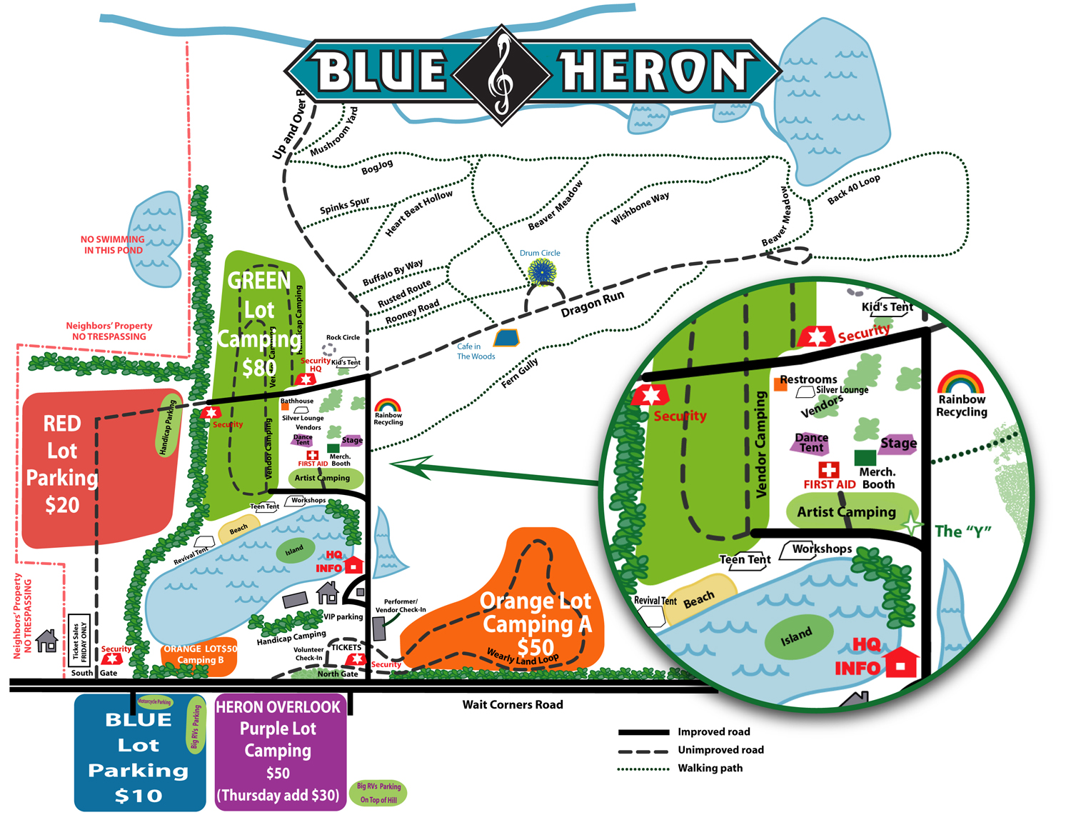2018 Map of The Heron Grounds