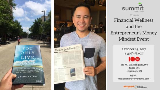 Summit Credit Union presents Entrepreneurial Money Mindset Event
