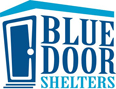 Blue door shelters logo