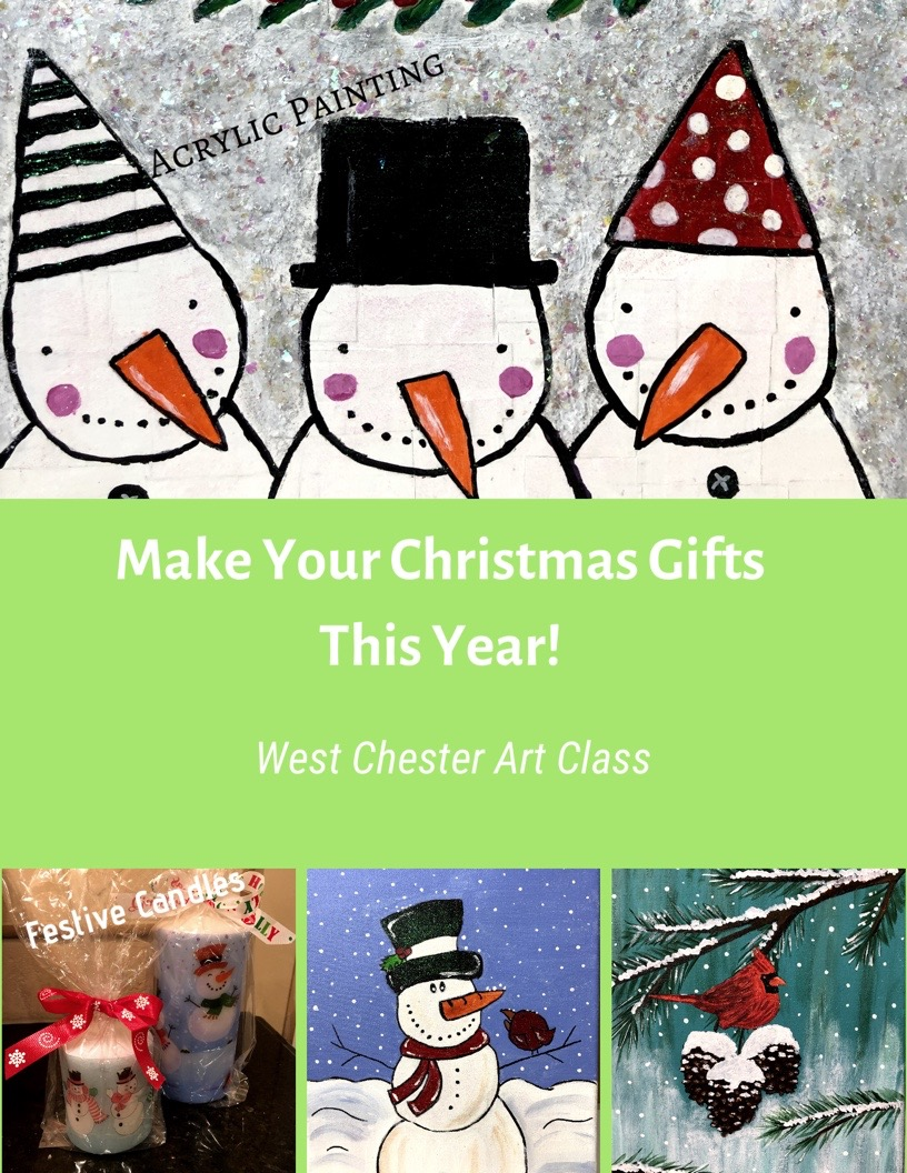 Kid\'s Christmas Gift Making Class - Make Your Gifts This Year - Ages ...