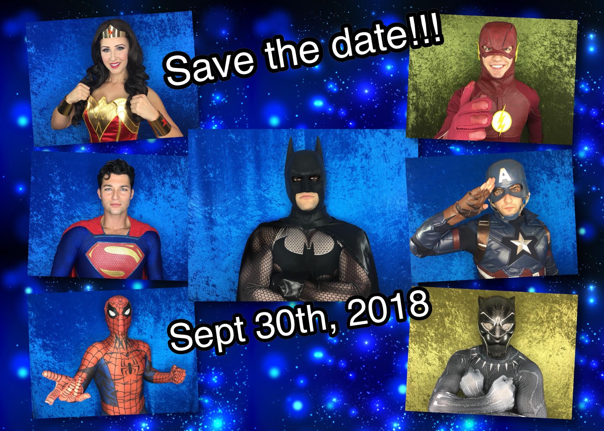 Superhero Meet And Greet Scavenger Hunt Tickets Sun Sep 30 2018
