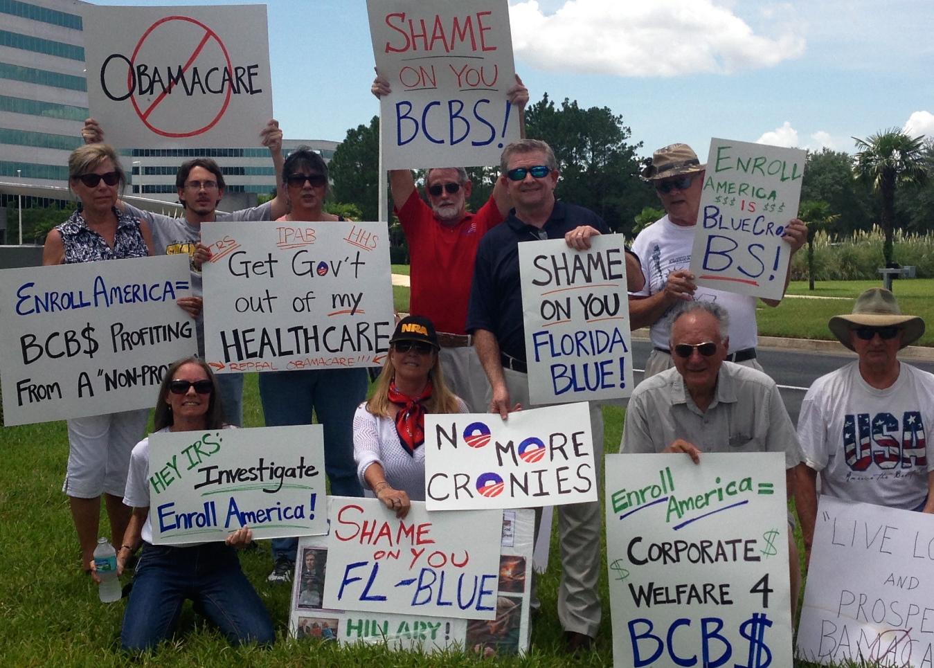 jaxrally AFP FL: Rallies Protesting Enroll America (Multiple Locations)