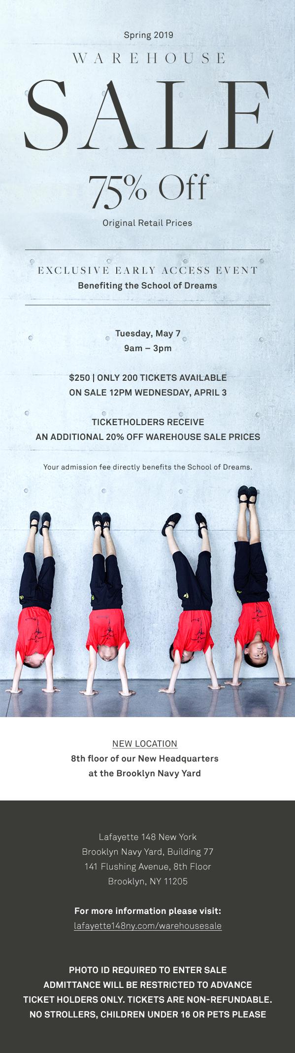 Lafayette 148 New York Warehouse Sale