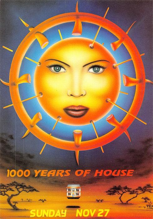 1000 Years of House - Sunday, November 27