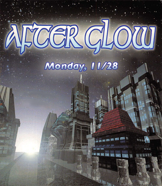 AfterGlow, Monday November 28
