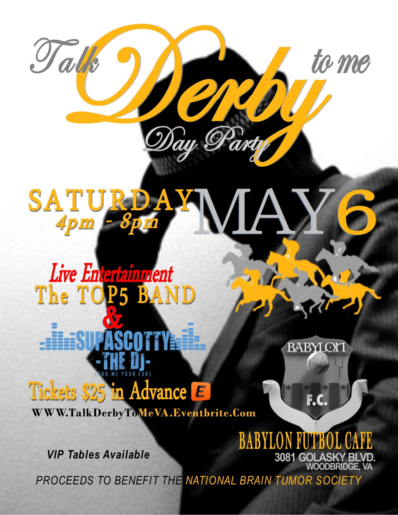 VA Talk Derby to me Day party