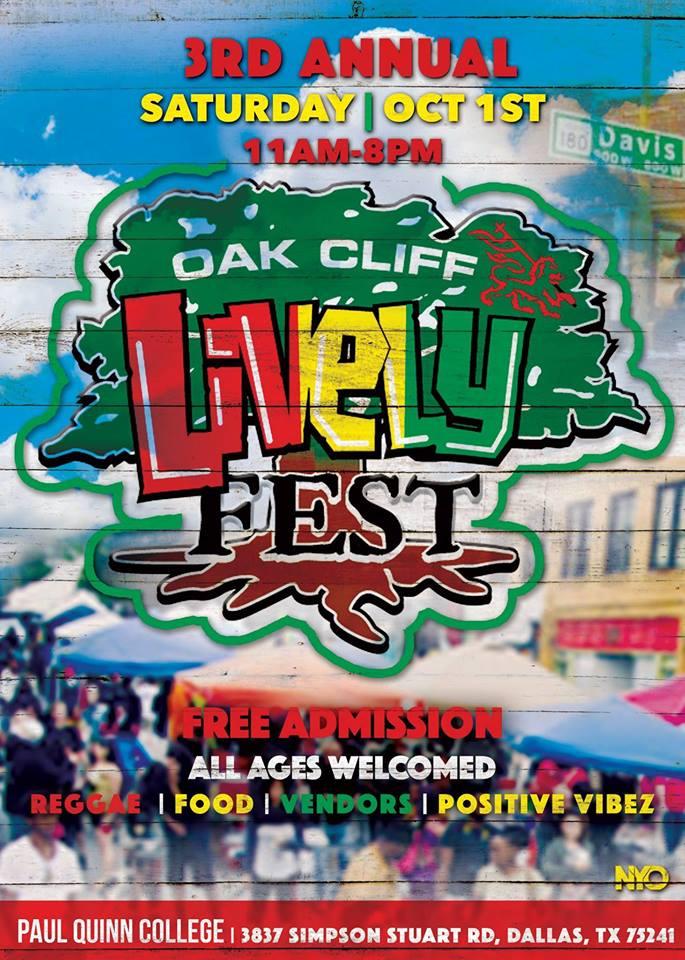 3rd Annual Oak Cliff Lively Fest
