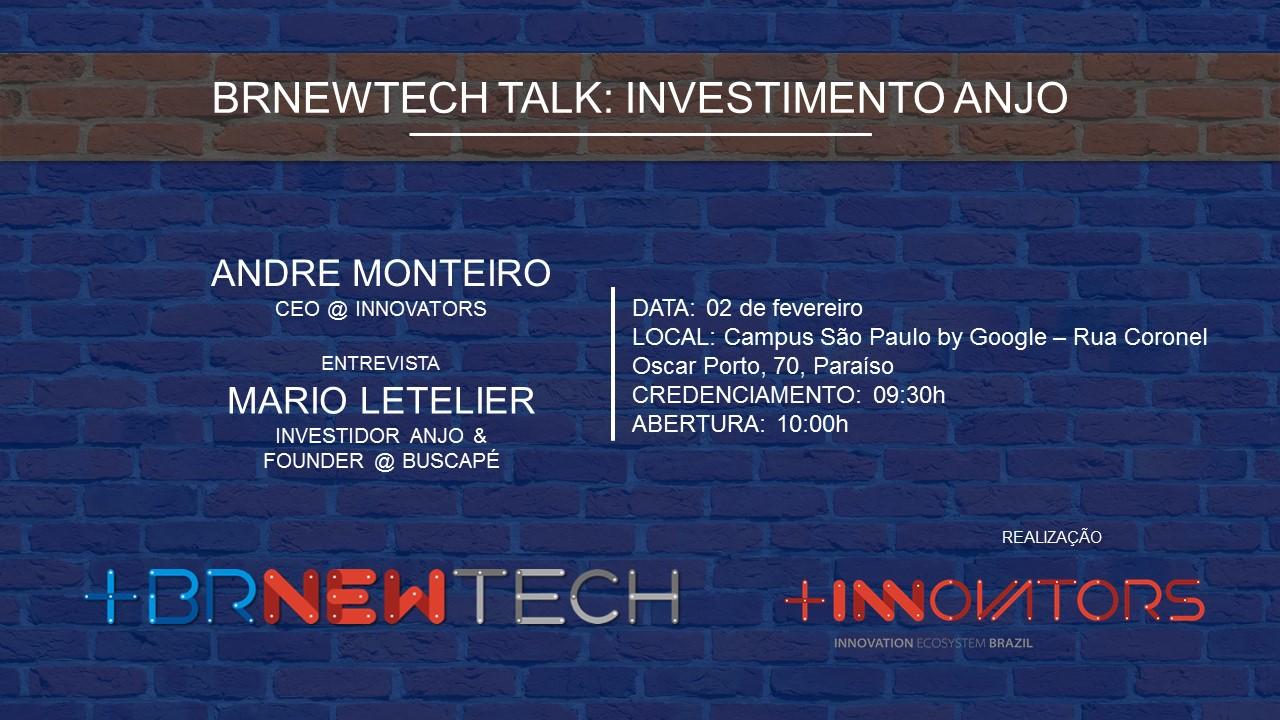 BRNewTech Investimento Anjo