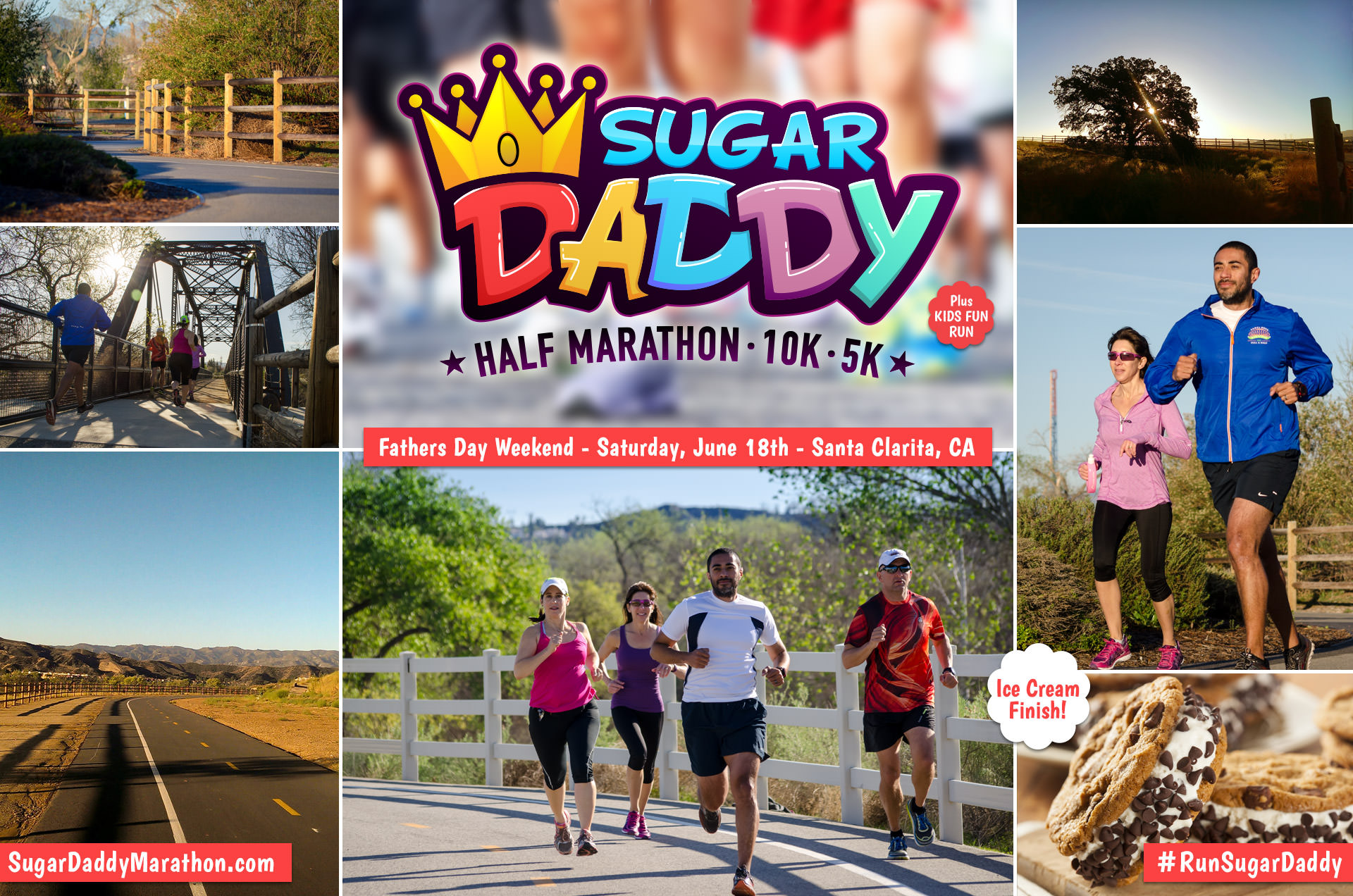 Sugar Daddy Half Marathon/10K/5K/Kids Fun Run