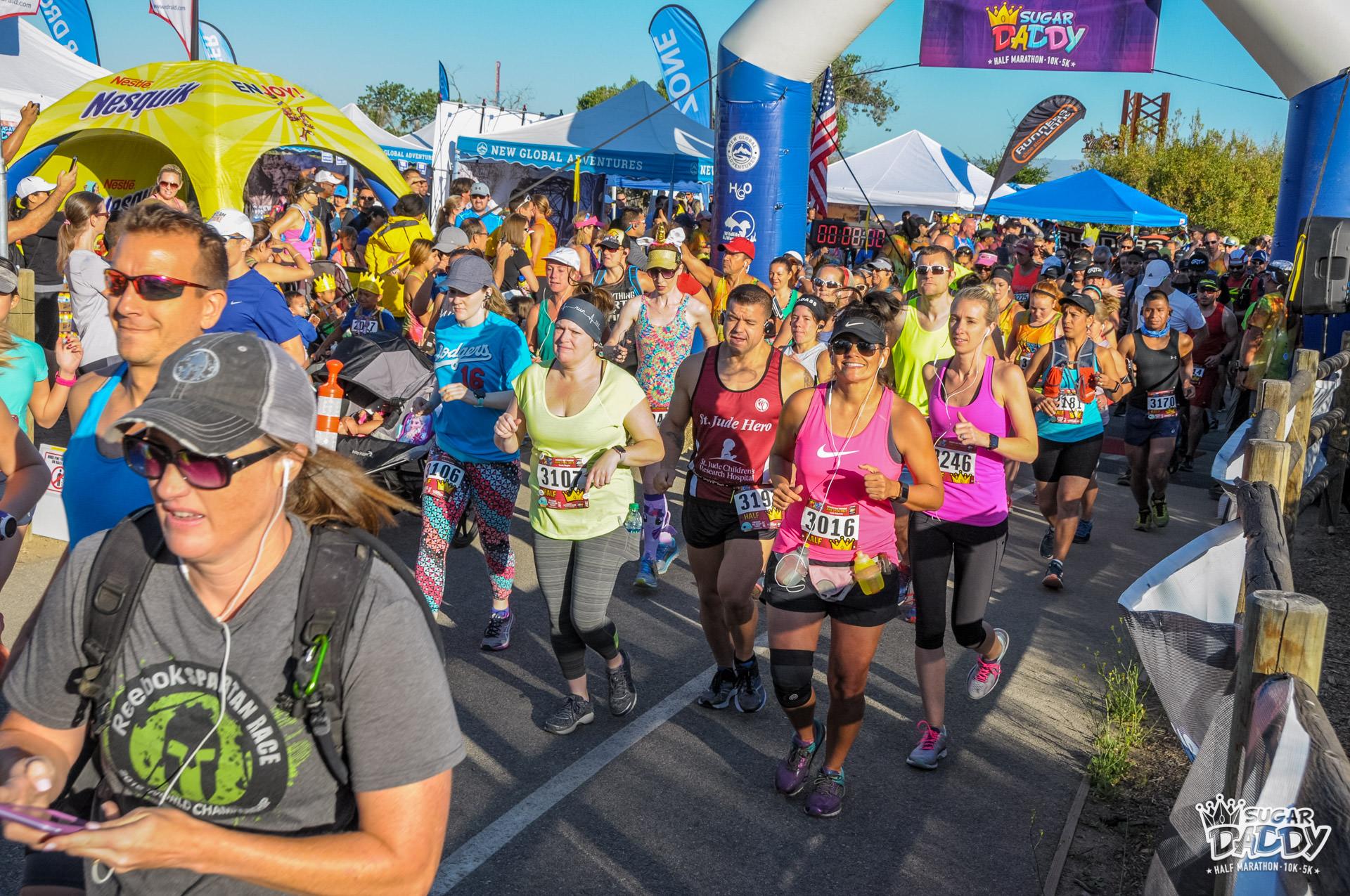 Sugar Daddy Half Marathon, 10K, 5K, & Kids