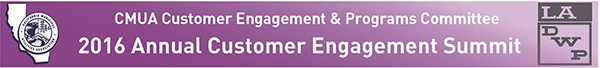 CMUA Customer Engagement Summit Header