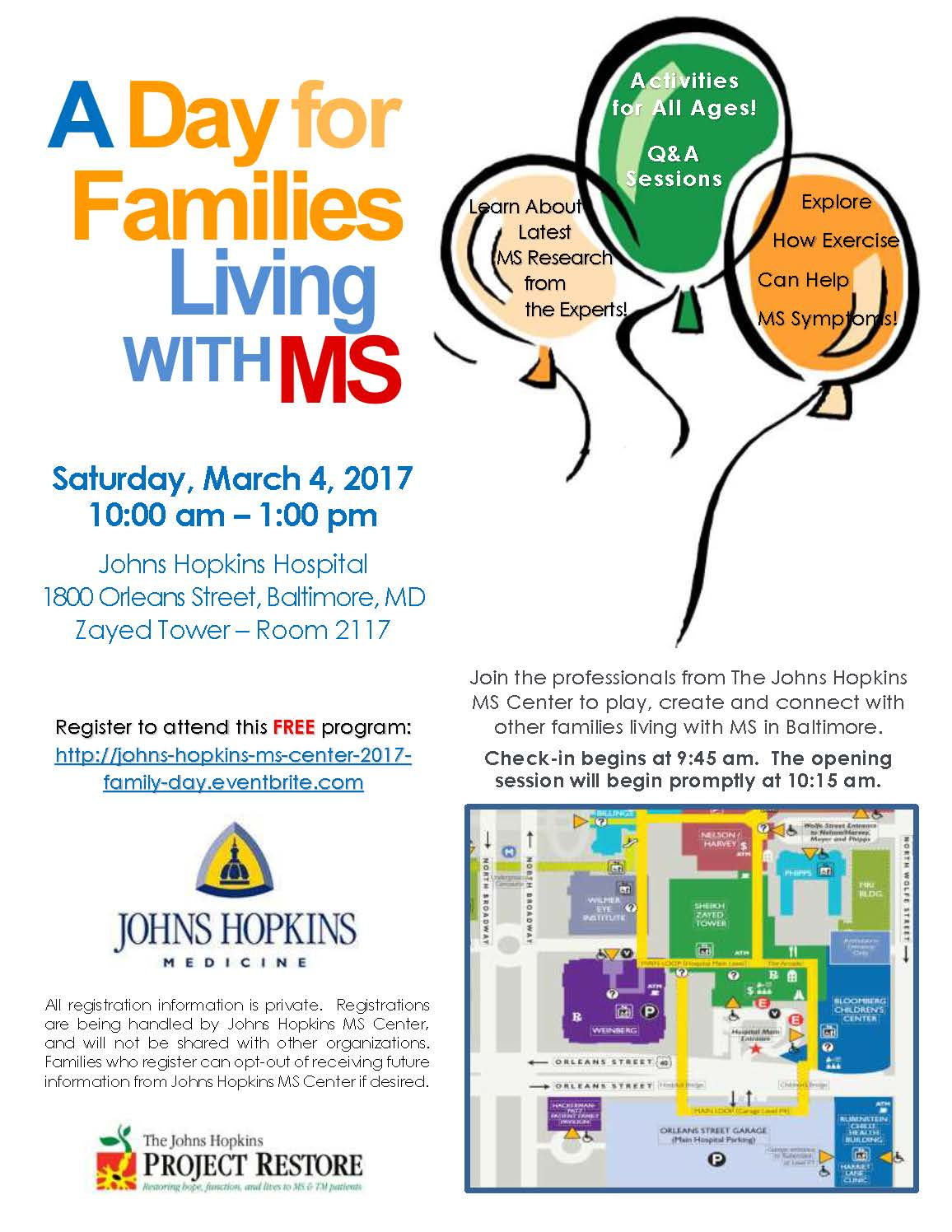 A Day for Families Living with MS