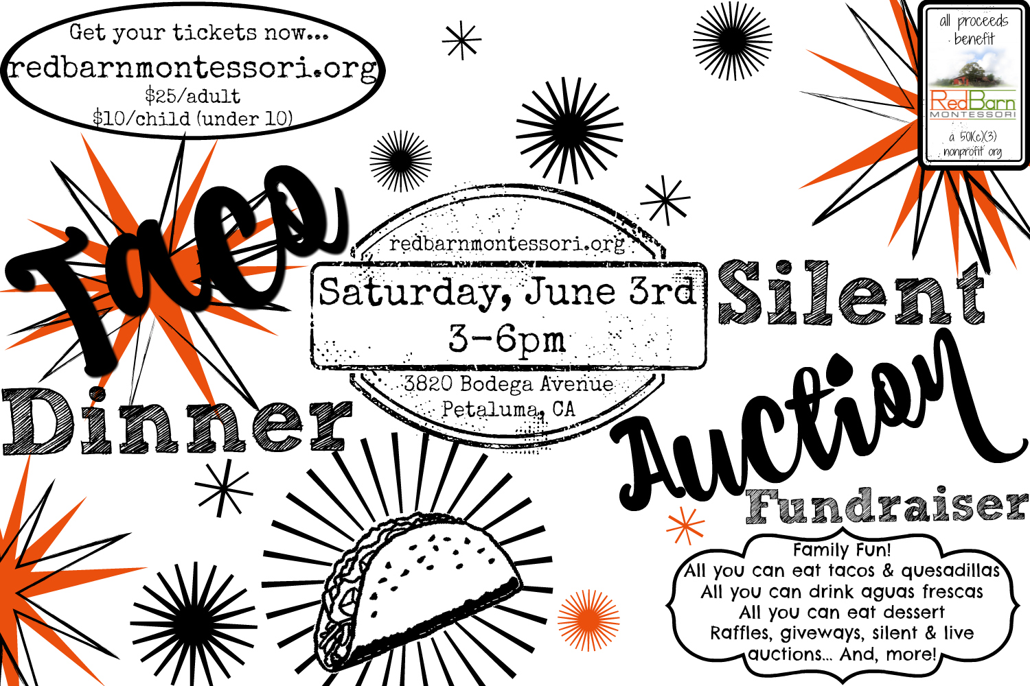 Taco Dinner & Silent Auction Event Image