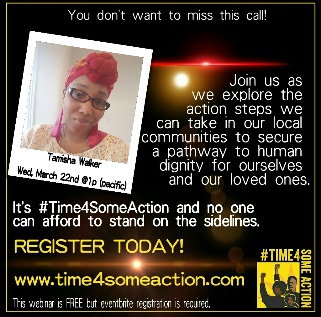 #Time4SomeAction - featuring Tamisha Walker