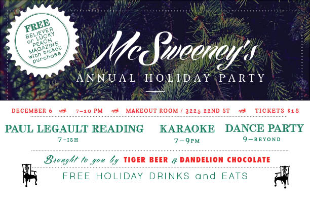 McSweeney's Holiday Party