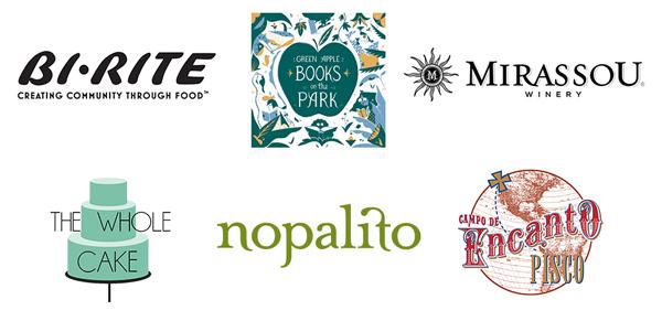 Green Apple Books on the Park, Encanto Pisco, Nopalito, Mirassou Winery, Bi-Rite Market