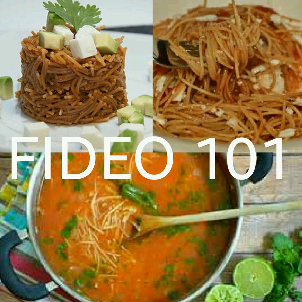 Fideo 101 cooking with blanca sold out tickets wed for Aldacos mexican cuisine