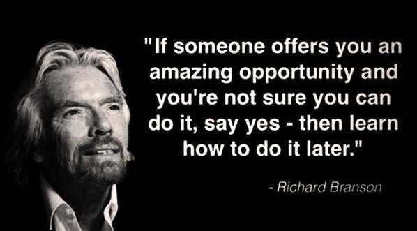 richard branson picture quote