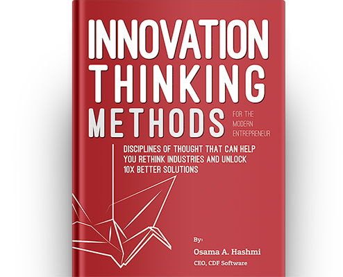 Innovation Thinking Methods Book Cover