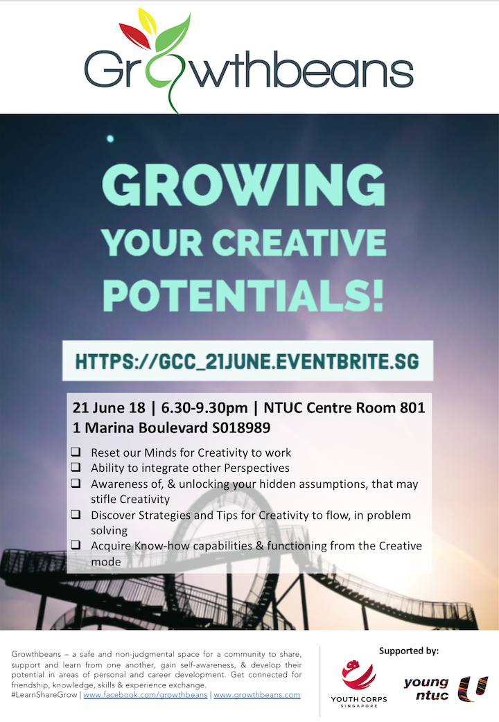 Growing Your Creative Potentials with Growthbeans