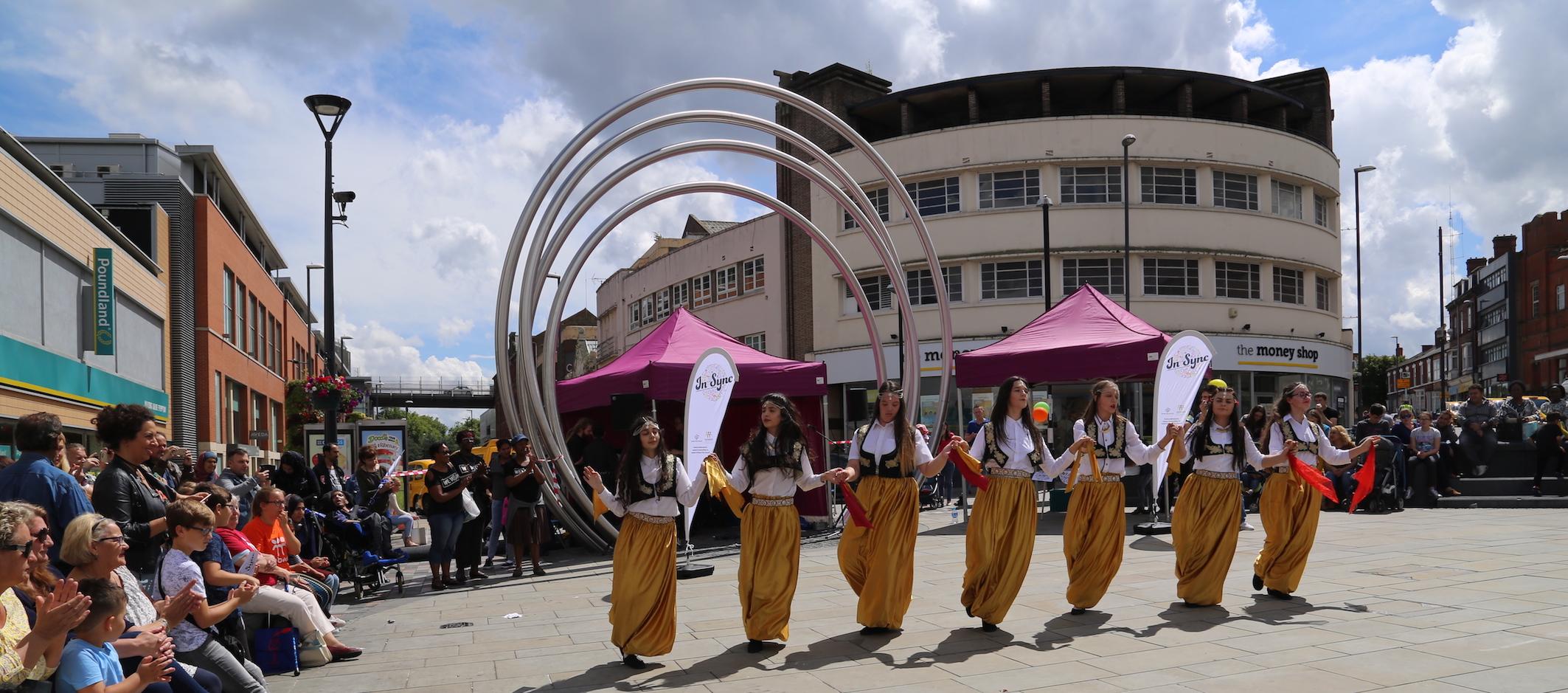 Insync Festival Dancers