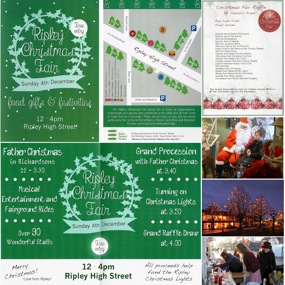 Ripley Christmas Fair - 4th Dec, noon to 4pm