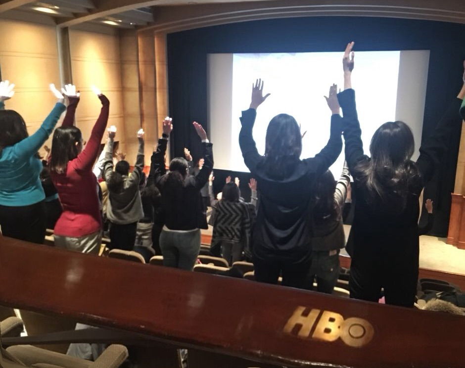 The Confident Public Speaker 2018 at HBO