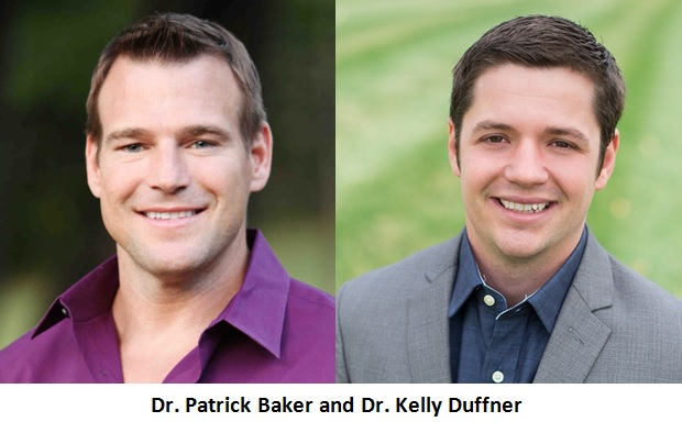 Dr. Patrick Baker and Dr. Kelly Duffner