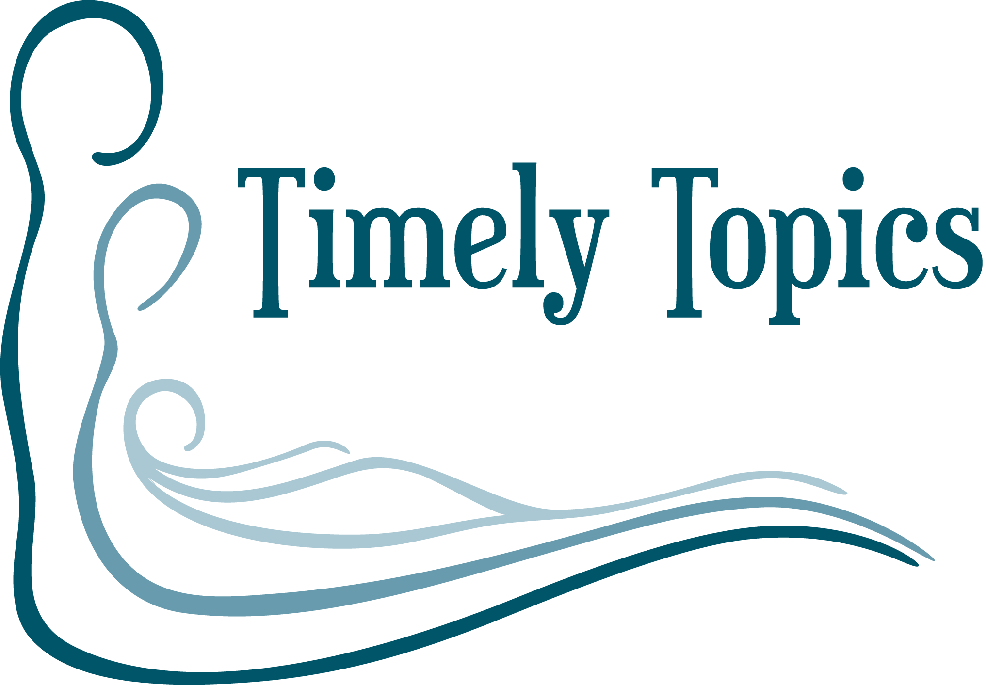 Timely Topics Logo