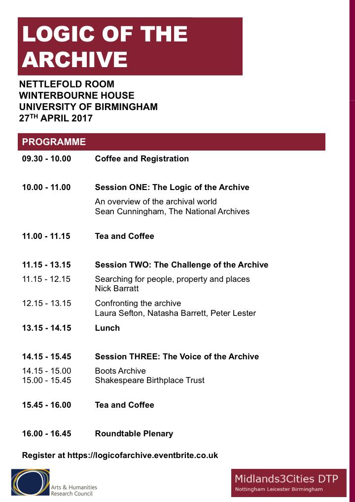 Latest Programme