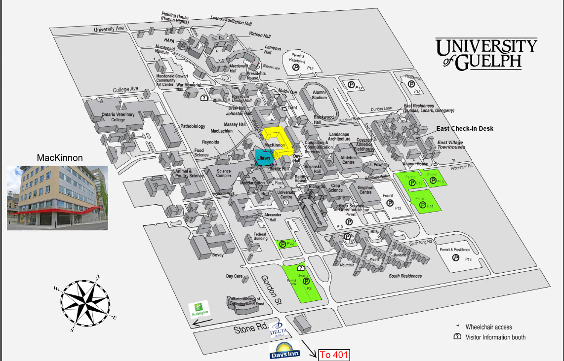 Map University of Guelph