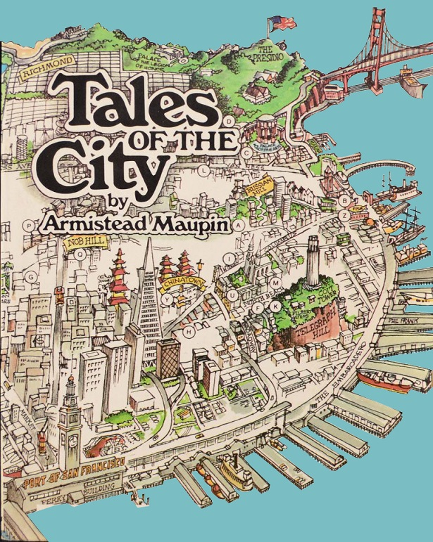 Tales of the City - Book Cover