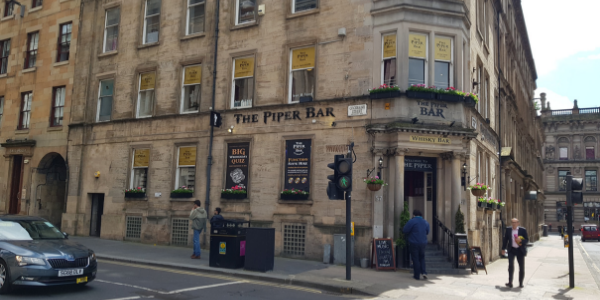 Image of The Piper Whisky Bar in Glasgow
