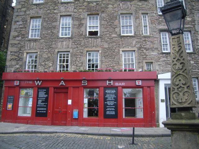 The Wash Bar Edinburgh
