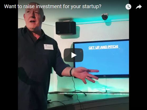 James Shoemark pitches the Investment Readiness Sprint