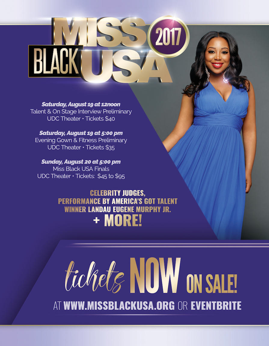 Miss Black USA Ticket and Schedule