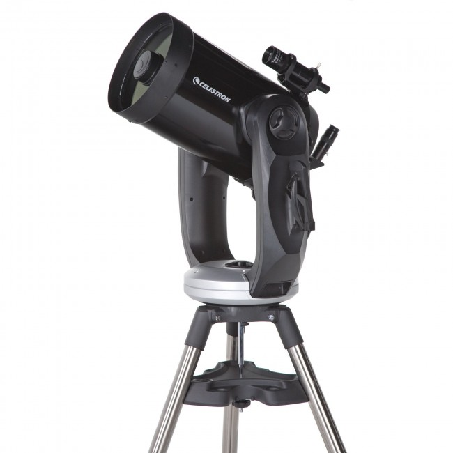 Celestron telescope used on the night