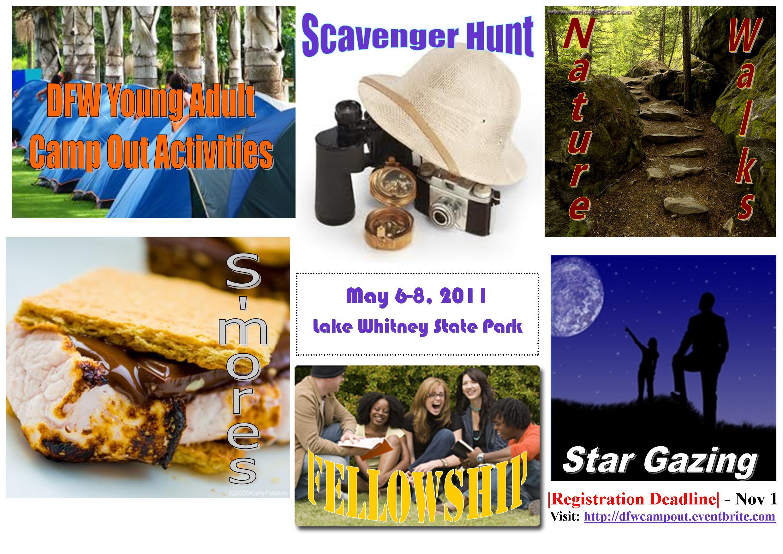 May Camping Activities