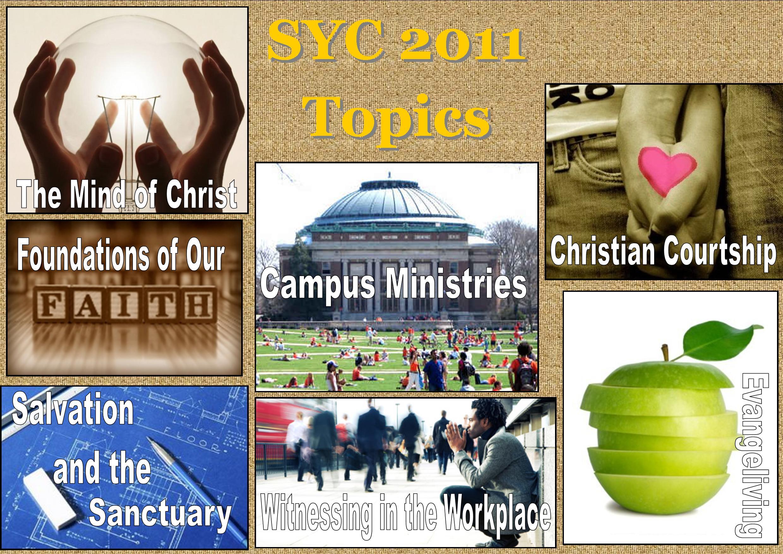 SYC 2011 Topics
