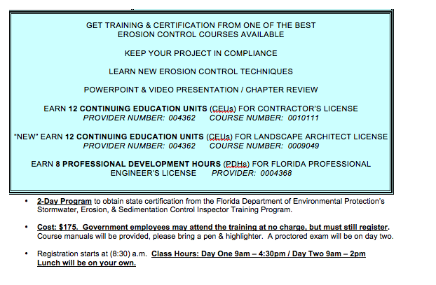 2012 Class Info