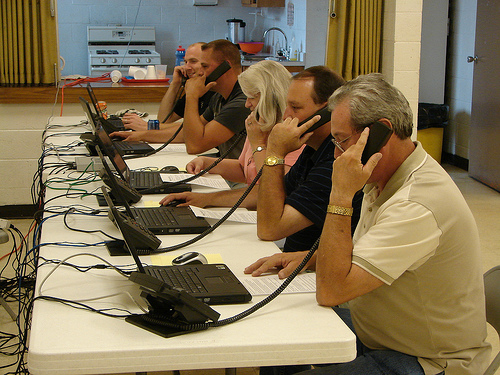 Phone Volunteers