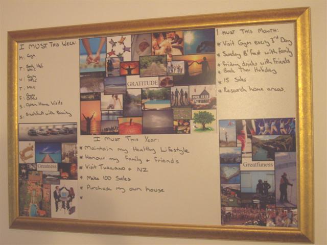 My Goal Board