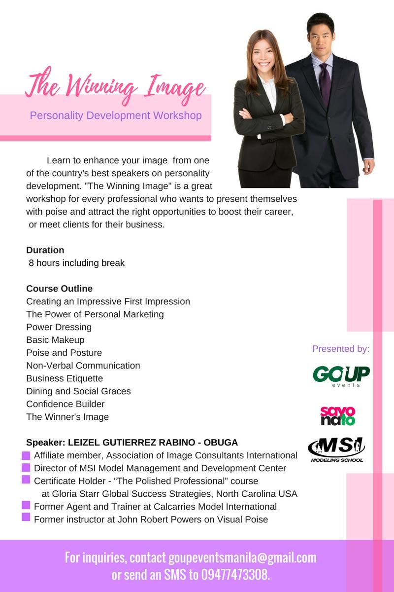 Personality Development Poster