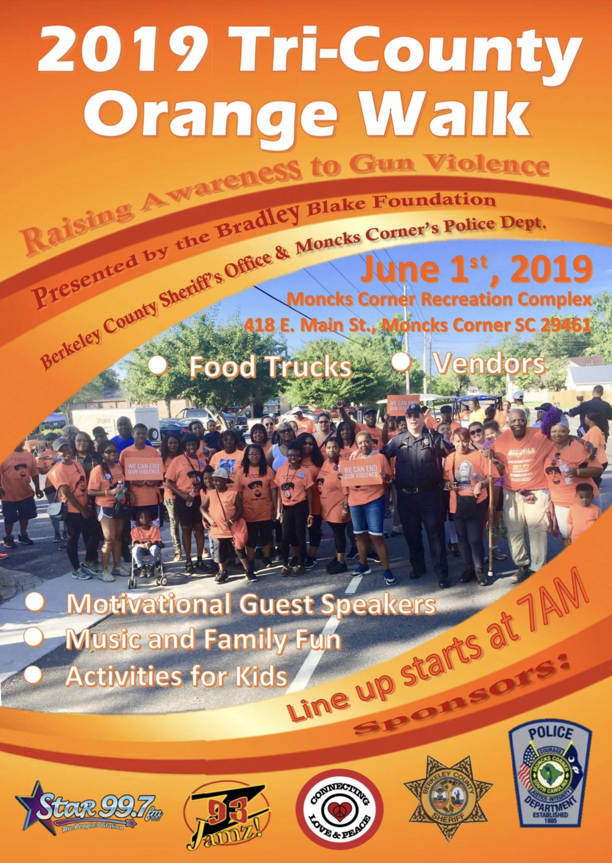 2019 Orange Walk Flyer