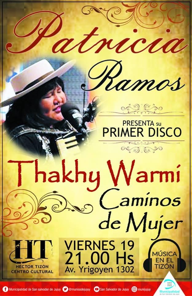 Patricia Ramos Presentación de Disco