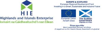 HIE & ERDF logo