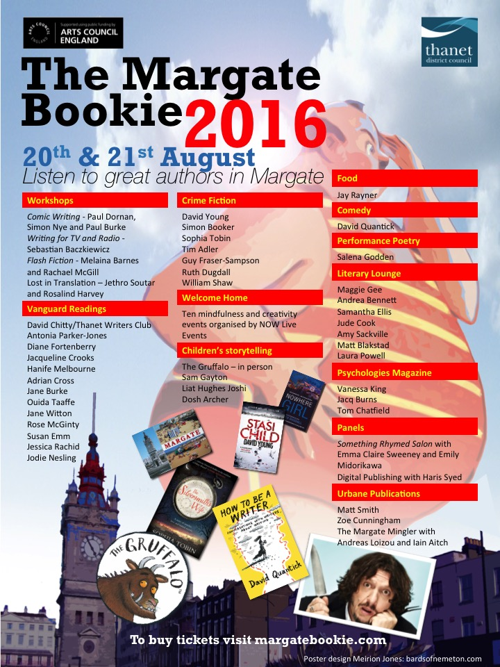 Margate Bookie listings poster