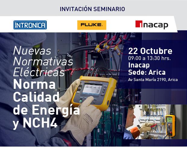 Seminario Inacap Arica