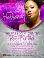 LALAH HATHAWAY Live in Cincinnati, OH at The Freedom Center...
